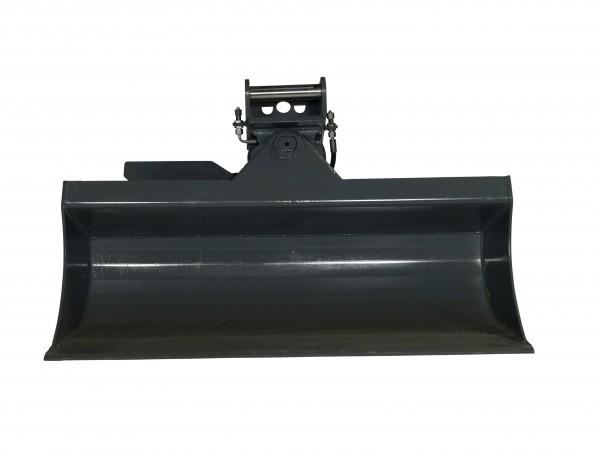 Schwenklöffel Hardox 1200 mm breit mit MS01