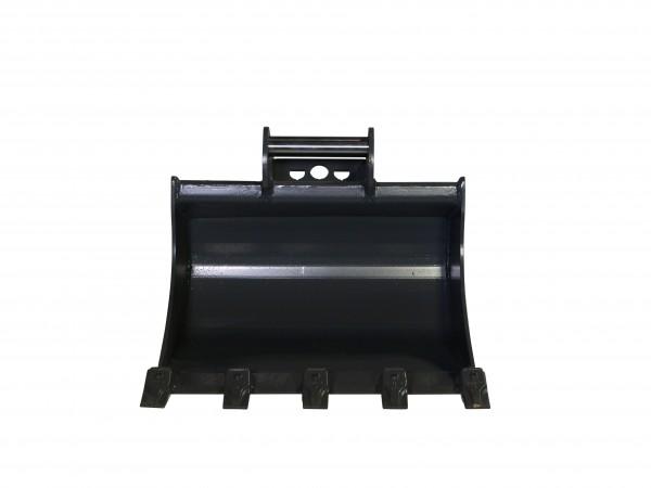 Baggerloeffel mit 600 mm breite mit Schnellwechselaufnahme  MS01